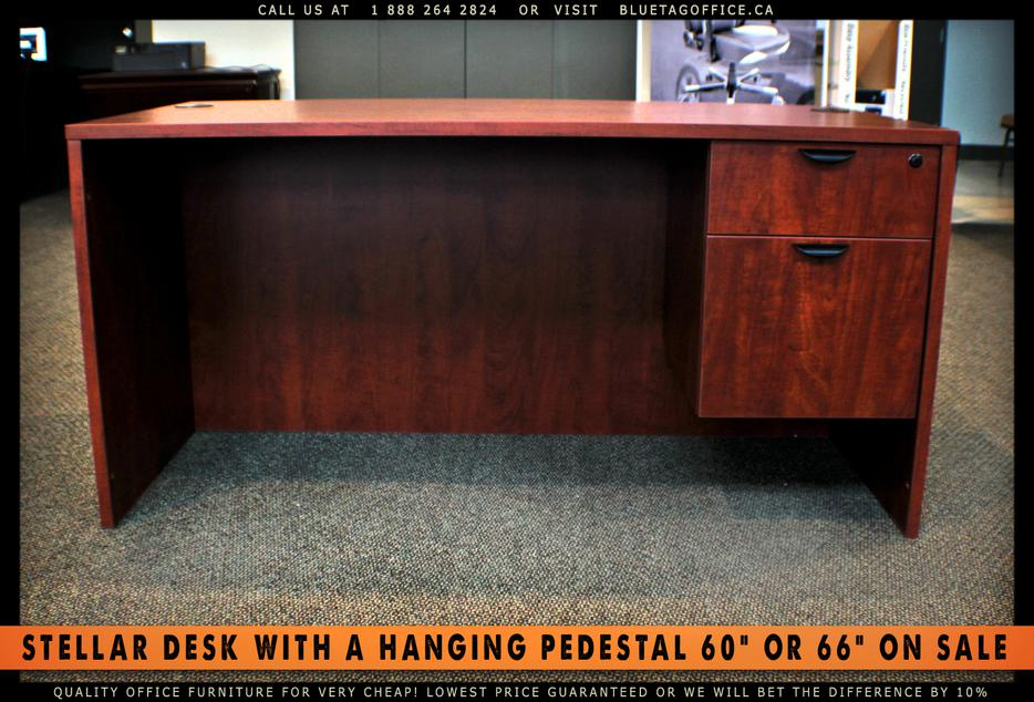 Office Desk With Single Hanging Pedestal On SALE Campbell River Comox Valley