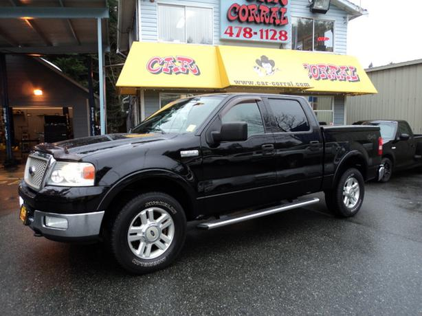 2004 ford f150 lariat supercrew 4x4 west shore langford. Black Bedroom Furniture Sets. Home Design Ideas