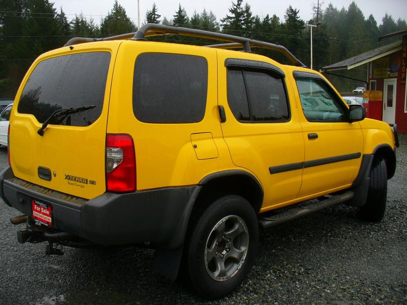 Campbell Nelson Nissan >> 2002 Nissan XTerra Manual Transmission Outside Comox ...