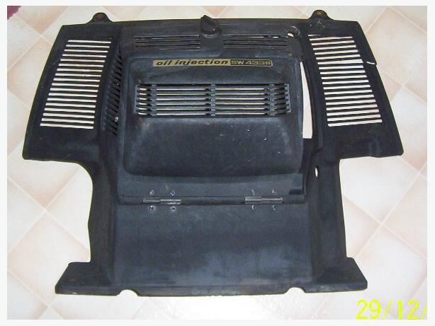 Yamaha SW433 engine cover engine cowl  engine shroud