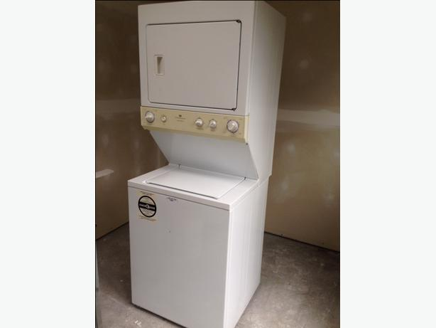 in needed 250 apartment sized stacked washer dryer gas combo
