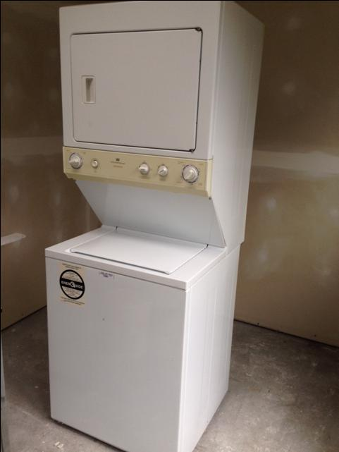 apartment sized stacked washer dryer gas combo victoria city