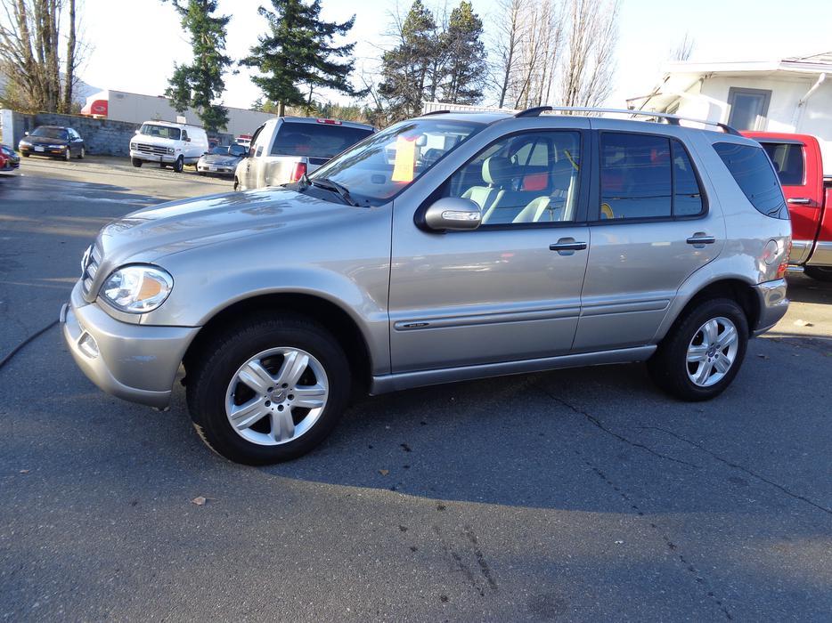 2005 mercedes benz ml350 4wd central nanaimo nanaimo for Mercedes benz nanaimo