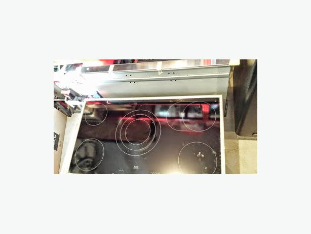 Pop Up Vents For Cooktops ~ Aeg electric stove cook top and pop up vent saanich