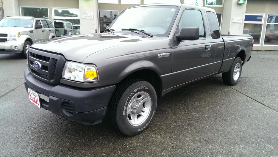 2010 ford ranger 4 cyl outside comox valley courtenay for Ford motor credit bad credit