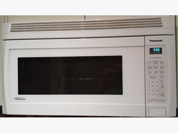 Panasonic microwave oven range south regina regina - Red over the range microwave ...