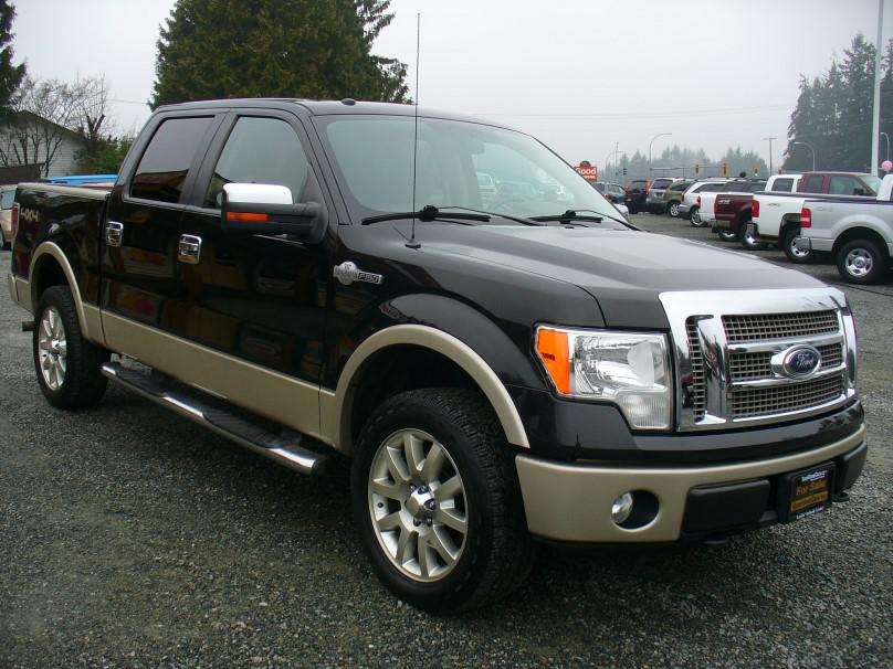 2010 ford f150 king ranch 4x4 luxury truck outside cowichan valley cowichan. Black Bedroom Furniture Sets. Home Design Ideas
