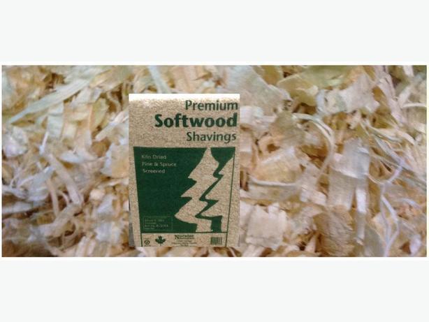 Bagged Pine Sawdust ~ Bagged shavings and wood pellet bedding outside winnipeg
