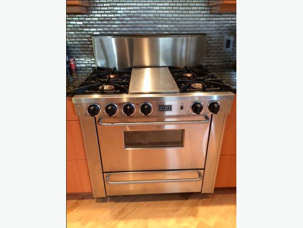 Stove With Griddle In The Middle ~ Quot fivestar range with griddle in the middle victoria
