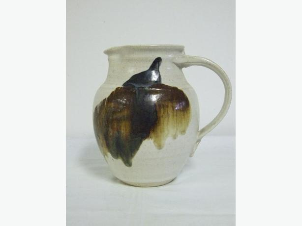 Ceramic pottery Jug