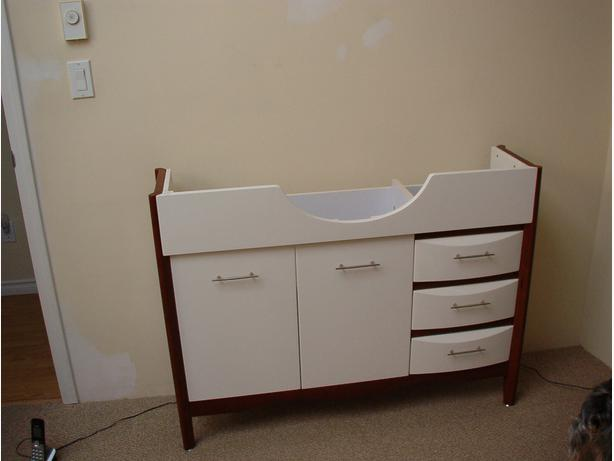 Have a small bathroom vanity for sale It measures 11quot; deep, 44 5/8