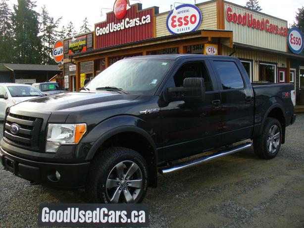 2010 ford f150 fx4 crew cab only 117 km off road package leather ms sync outside nanaimo. Black Bedroom Furniture Sets. Home Design Ideas