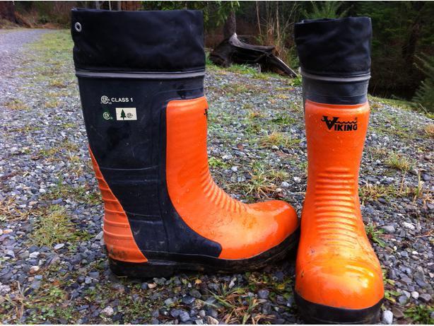 forestry caulk boots duncan cowichan