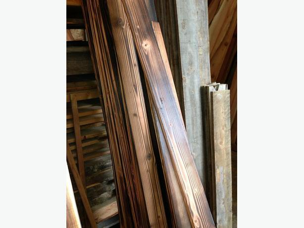 Fir Carbonized, Charred Wood Panel Wood Clearance