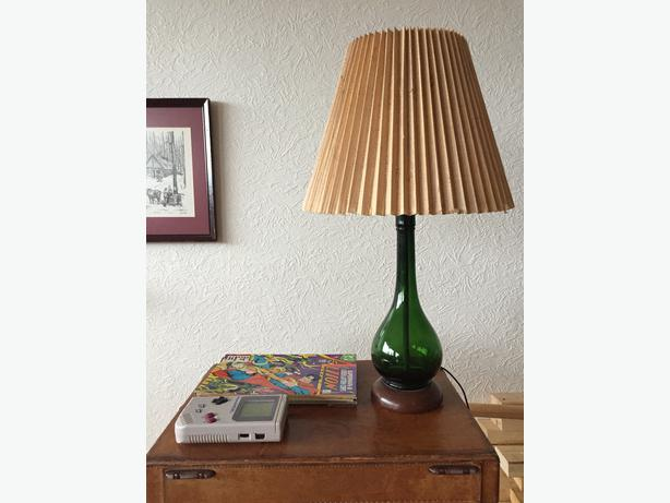Mid Century Modern Glass Table Lamp Oak Bay Victoria