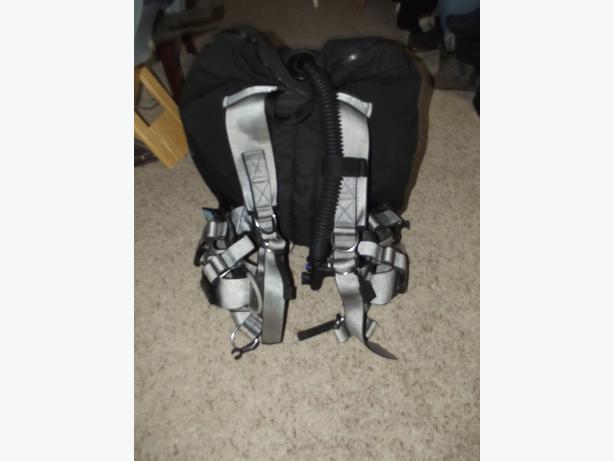 Joebuilt bcd harness with apex 60 pb bladder burnaby incl - Apex dive gear ...