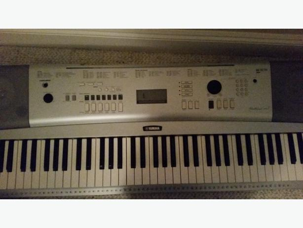 Yamaha keyboard 175 obo watch share print report ad duncan cowichan for Yamaha portable grand dgx 220 electronic keyboard