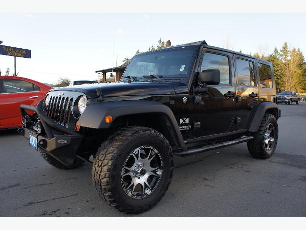 2007 Jeep Wrangler 4 Door 4x4 Outside Victoria Victoria