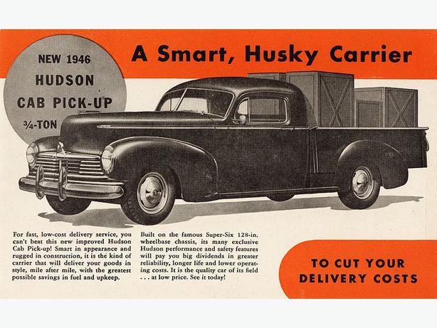 1946 hudson pickup north saanich sidney victoria for Hudson log
