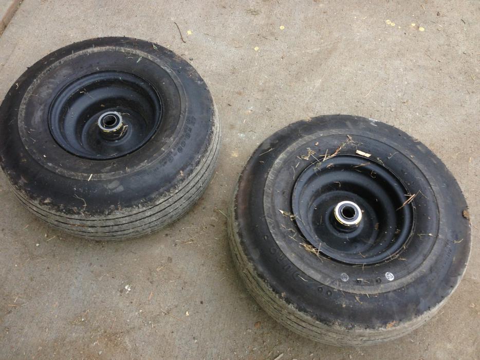 John Deere Turf Tractor Tires : John deere lawn tractor tires and rims central saanich