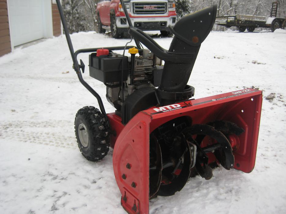 how to change oil on a mtd snowblower