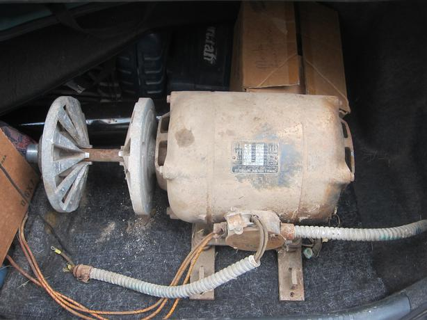4HP Electric Motor w/Adjustable Pulley