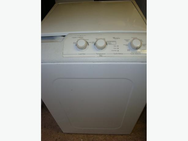 whirlpool apartment size portable washer in working condition and