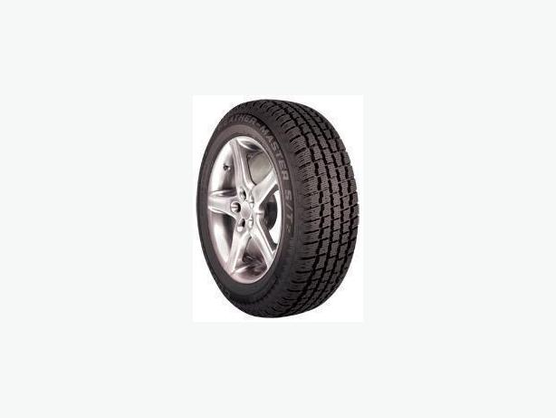 4 Cooper Winter Tires on 5 hole rims Balanced & Studdable.