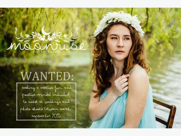 Wedding photography assistant wanted victoria city victoria for Wedding photographer assistant