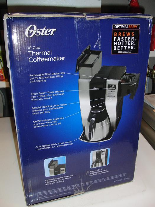 Oster Coffee Maker The Bay : New Oster 10 Cup Thermal Coffee Maker Central Nanaimo, Nanaimo