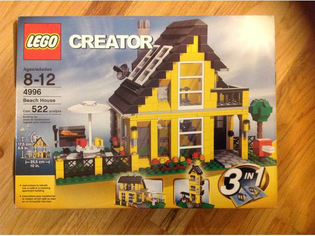 lego creator beach house oak bay  victoria