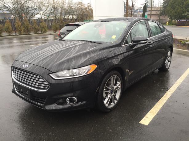 fs 2014 ford fusion titanium awd outside nanaimo parksville qualicum beach. Black Bedroom Furniture Sets. Home Design Ideas