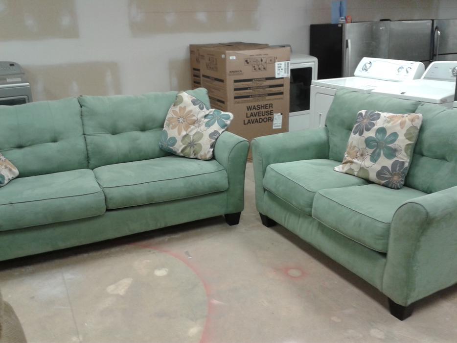 Seafoam Green Sofa Loveseat 6113566 Victoria City Victoria