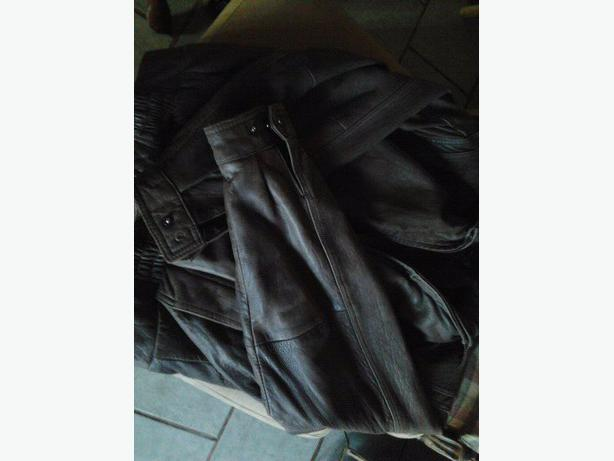GENUINE LEATHER FLIGHT JACKET