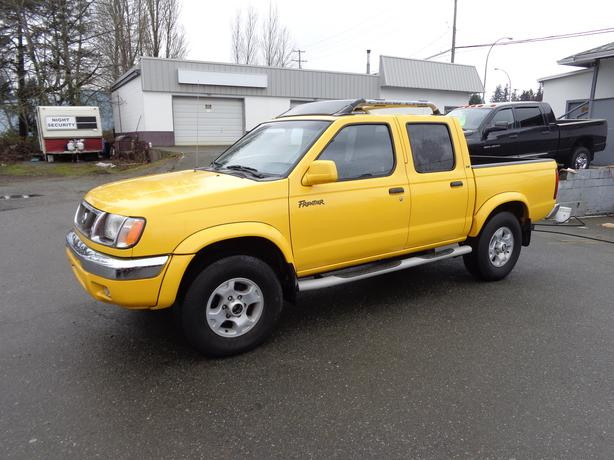 2000 nissan frontier 2wd central nanaimo nanaimo. Black Bedroom Furniture Sets. Home Design Ideas