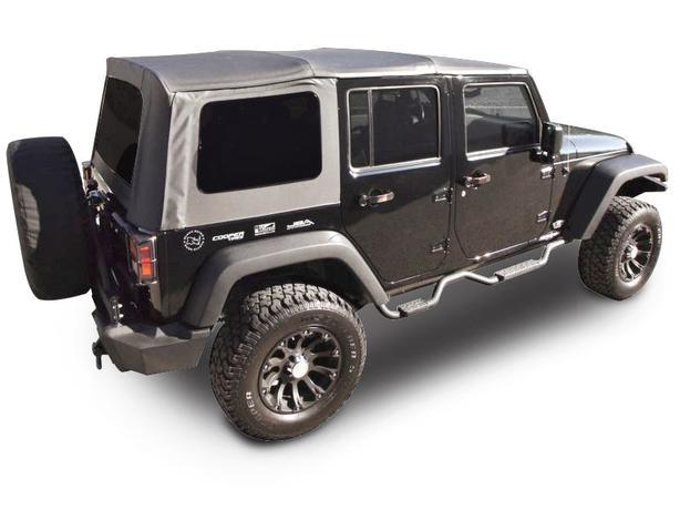 jeep wrangler unlimited 4 door soft top black new saanich victoria. Black Bedroom Furniture Sets. Home Design Ideas
