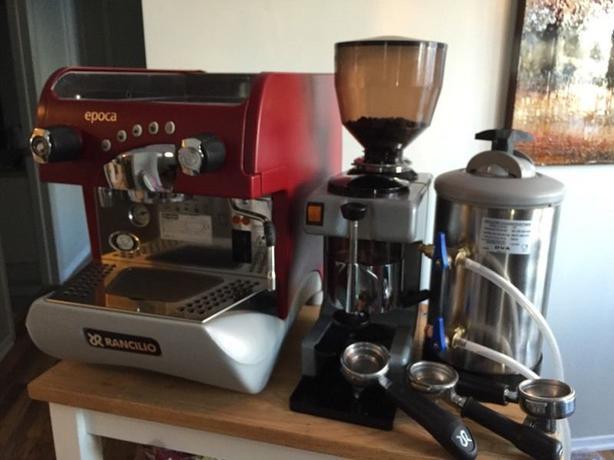 water softener espresso machine