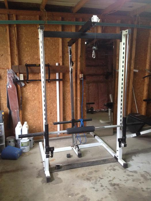 Pulleys Nanaimo : Smith machine with multi pulley system south nanaimo