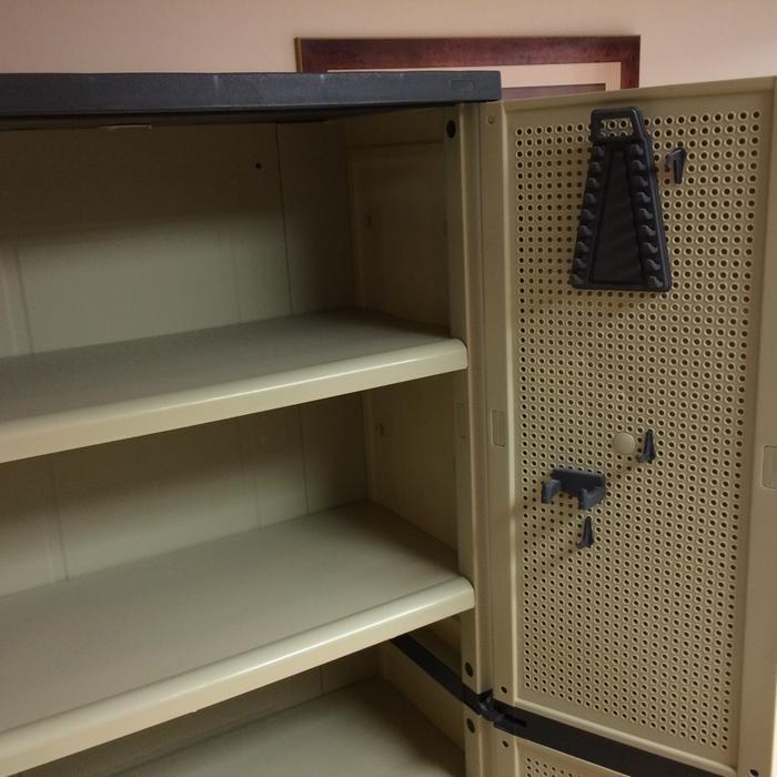 Workforce Plastic Storage Cabinet East Regina Regina