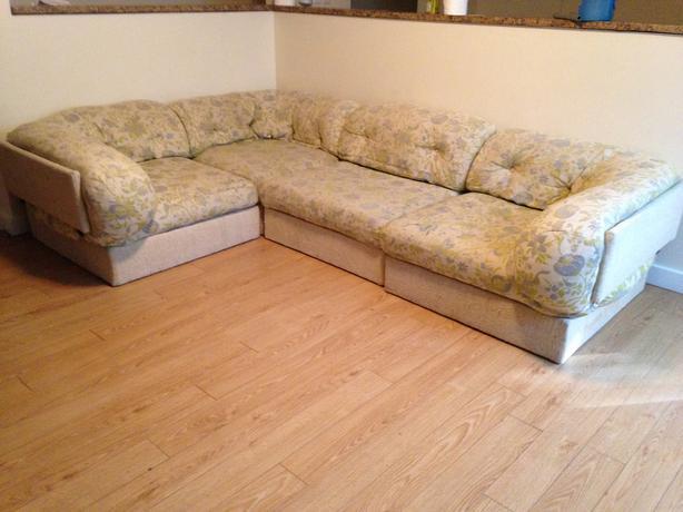 European style sectional sofa oak bay victoria for Sectional sofa european style