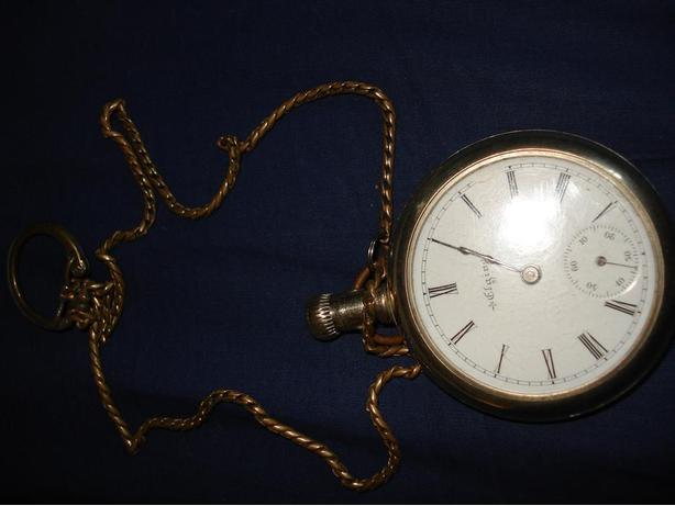 Elgin  Pocket Watch,   Yr. 1800's,    Excellent  working order.