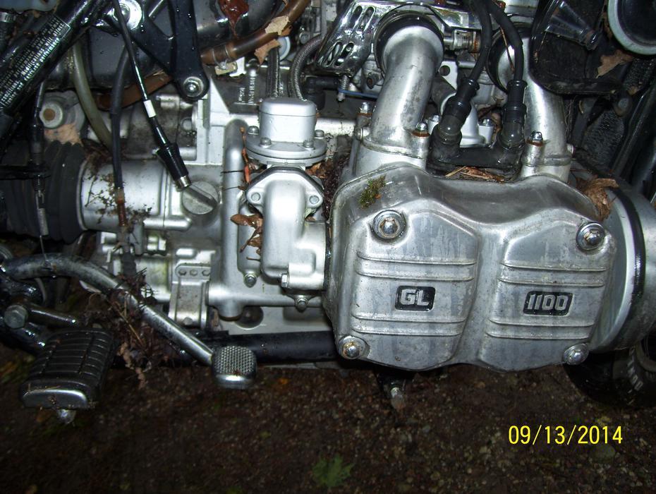 Rock County Honda >> Honda Goldwing 1100 engine GL1100 good running engine ...