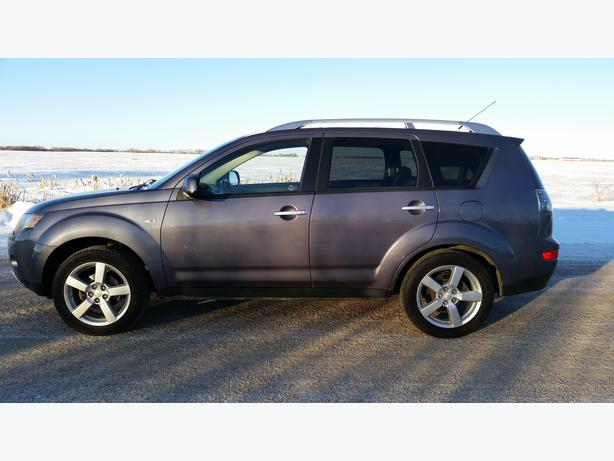 2007 mitsubishi outlander xls suv awd leather command. Black Bedroom Furniture Sets. Home Design Ideas