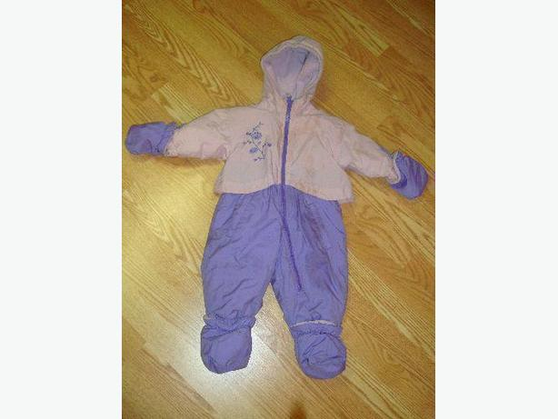 Like New Girls Snowsuit Infant 20lb - Excellent Condition! $7