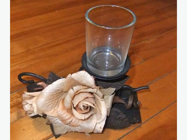 Candle holder and vase