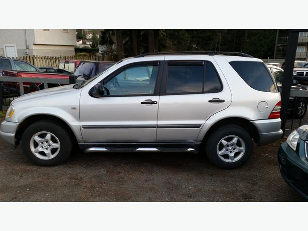 1999 mercedes benz ml320 west shore langford colwood for Mercedes benz 1999 ml320