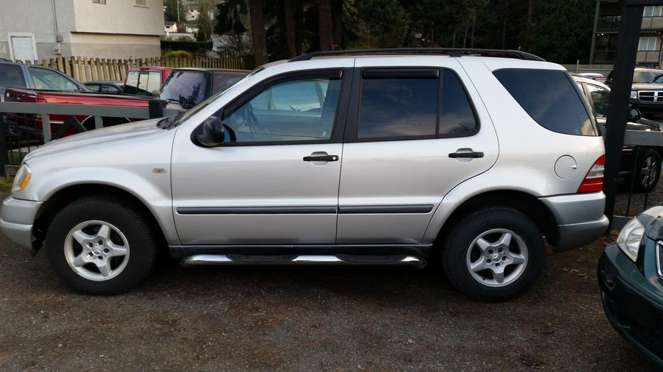 1999 mercedes benz ml320 west shore langford colwood for Mercedes benz family discount