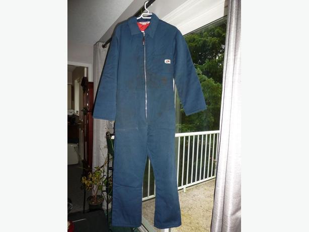 Men's Lined Winter Weight Coveralls