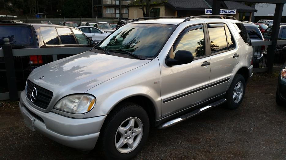 1999 mercedes benz ml320 west shore langford colwood for Mercedes benz ml320 tires
