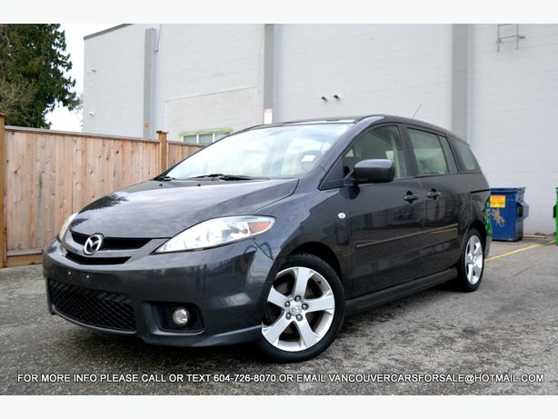 2006 mazda 5 gt minivan automatic surrey incl white rock. Black Bedroom Furniture Sets. Home Design Ideas